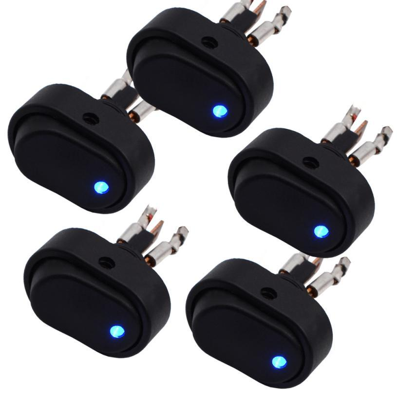 Motorcycle accessories 12V 30A LED Car light switch Car Boat Auto ...