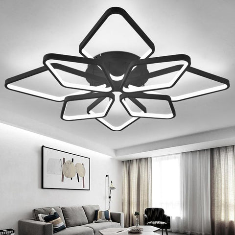 NEO Gleam Diamond Rings surface mounted modern led ceiling lights for living room Bedroom fixtures indoor home Dec Ceiling Lamp