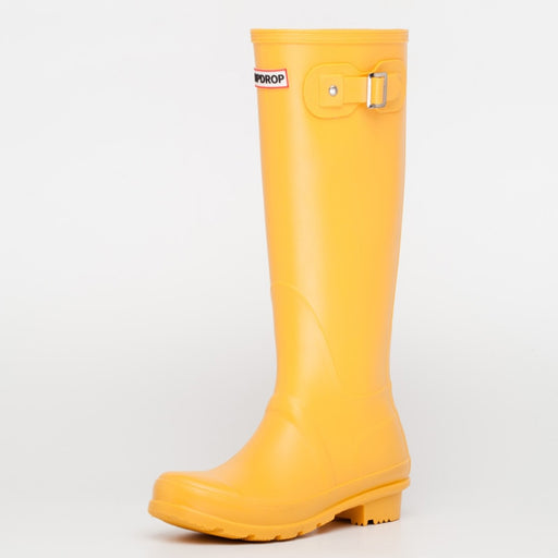 16505efe581 NEW Hot Ladies Waterproof Rain Boots Female Knee-high Fashion Women Rubber  Rain Boots Girls