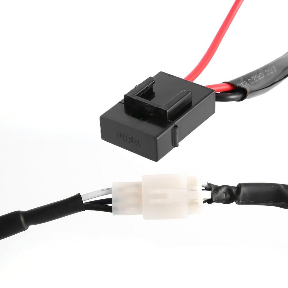 New 12v 40a Wiring Harness Kit Loom For Led Work Driving Light Bar Tool Wire Spotlights With Fuse