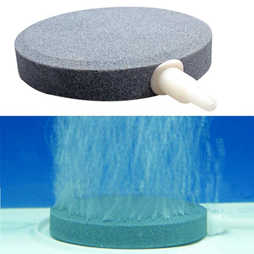 New High Quality Professional Diam 8cm Sintered Air Stone Bubble Aerator Airstone Oxygen Circulate Balance Aquatic Supplies DA
