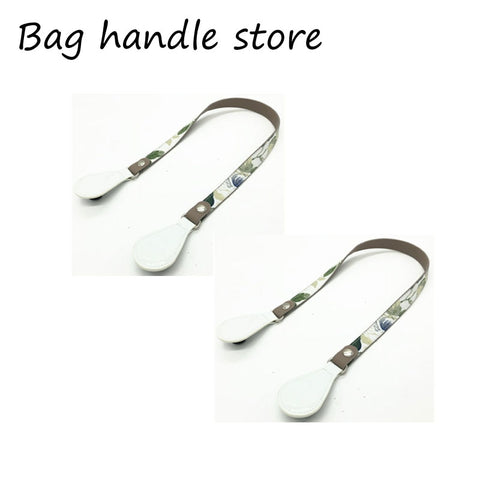New Long Short Flat Handles with drop end for Obag Handle Removable Drop End for O Bag