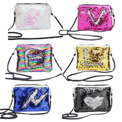 New Women Fashion Glitter Sequin Small Handbag Makeup Bags Crossbody Shoulder Bag Coin Purse Bags for Women Girl 2018