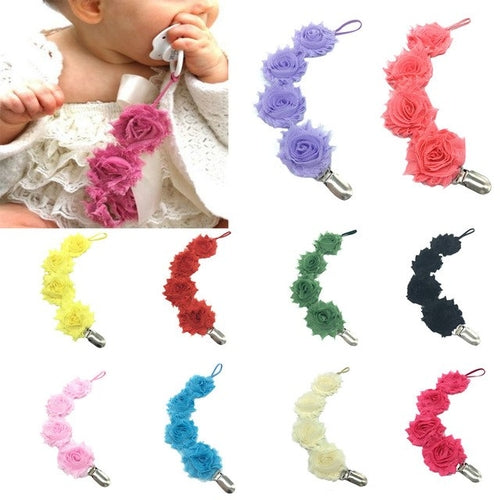 New fashion Baby Pacifier Chain Clip Holder
