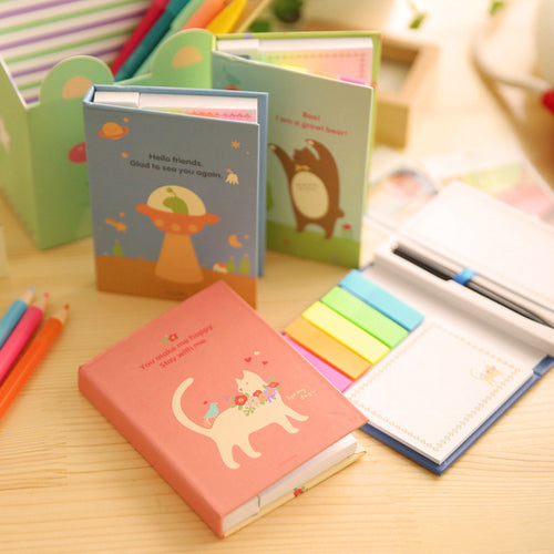 Office Supplies Cute animal Memo Pads High-grade