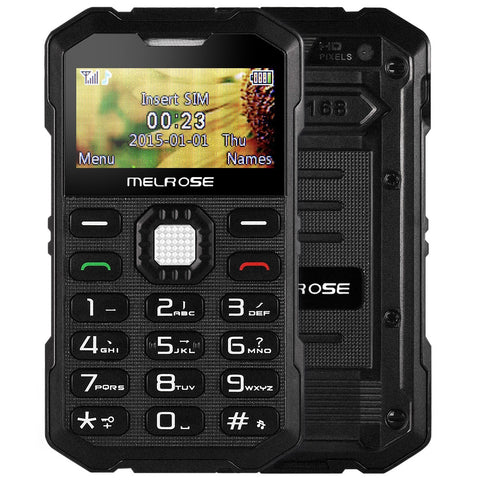 Original MELROSE S2 1.7 Inch Mini Outdoor GSM Single SIM Mobile Cell Phone Shockproof Dustproof Children Gift phone Back Camera