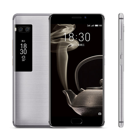 "Original Meizu Pro 7 Plus 6GB 64GB MTK Helio X30 Deca Core 2.6GHz 5.7"" 2560*1440 AMOLED Screen Dual Rear 3500mAh Fingerprint ID"