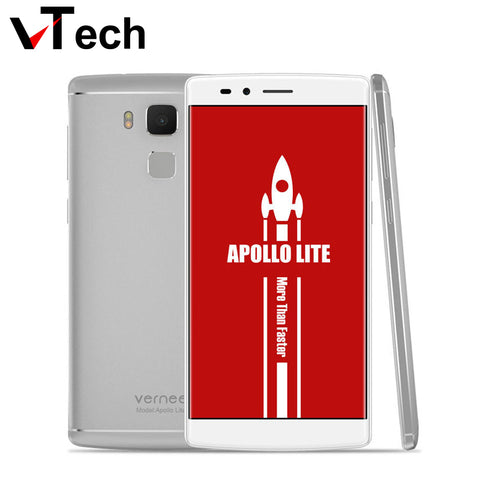 "Original Vernee Apollo Lite Mobile Phone 4G 5.5""FHD Android 6.0 MTK6797 Deca Core 4G RAM 32G ROM 16.0MP TouchID 3180mAh In stock"