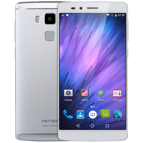 Original Vernee Apollo X 4G Phablet Smartphone Android6.0 5.5Inch Helio X20 Deca Core 2.3GHz 4GB RAM 64GB ROM 13.0MP Rear Camera