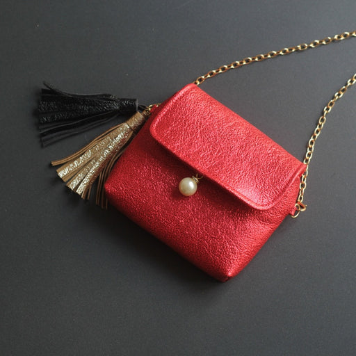 PU leather princess tassels women mini coin purse kids small shoulder money pouch wallet bag bolsa carteira feminina for girls