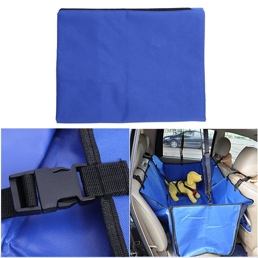 Pet Car Mats Car Security Buckle With Rear Oxford Cloth Pet Dual Supplies Waterproof Dog Car Seat Cover Pet Supplies