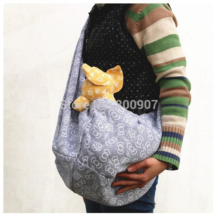 Pet Sling Dog Cat Puppy Small Animal Carrier Candy Pattern 40 Mesmerizing Dog Sling Pattern