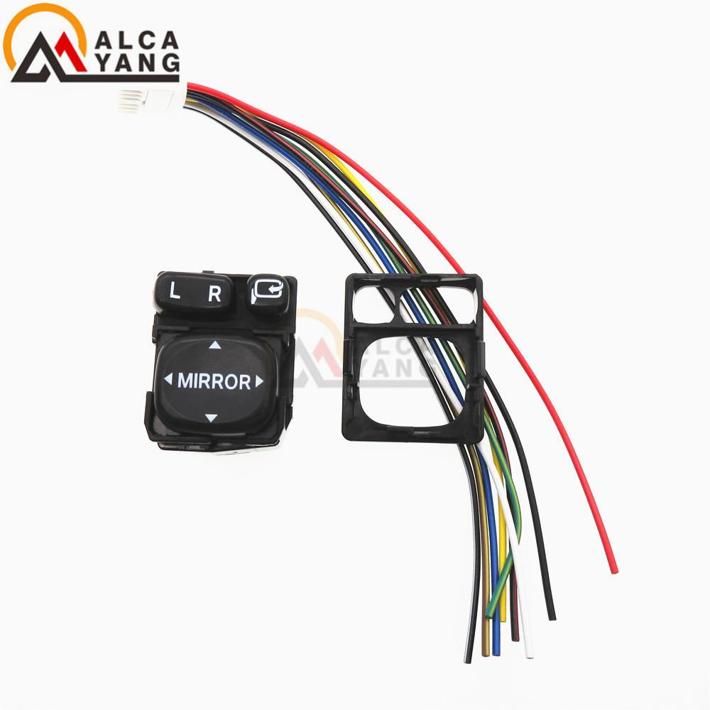 Power Mirror Control Switch Wiring 2010 F150 Diagram Ford 84872 52030 84870 34010 Folding Rear