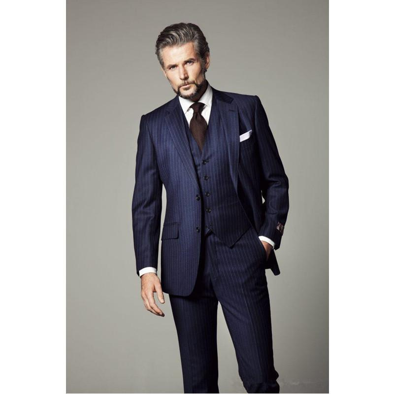 Prom Mens Suit With Pants Stripes Suit Men Wedding Suits for Men ...
