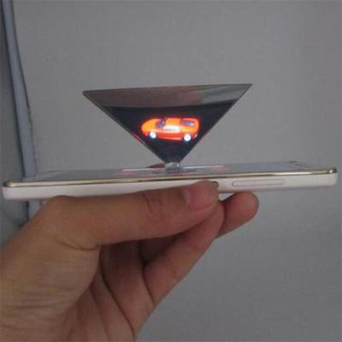 Pyramid Hologram For Smartphone Holographic Display Showcase Hologram For iphone X Samsung Xiaomi Redmi