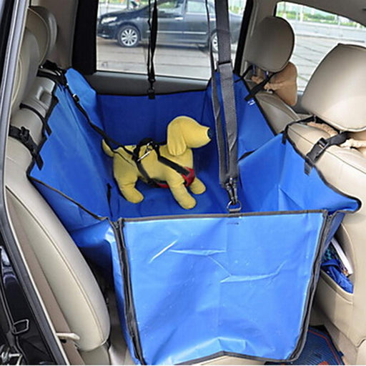 Rear Oxford Cloth Pet Mats Waterproof Dog Car Seat Cover with Car Security Buckle Pet Supplies Home Travel Accessories 160x140cm