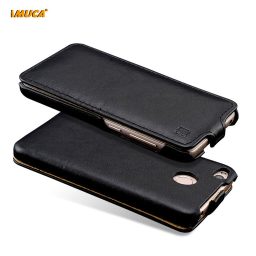Redmi 4X Case for Xiaomi redmi 4x Cover Luxury Leather Case Flip Cover for Xiaomi redmi 4x 4 X iMUCA Phone Cases