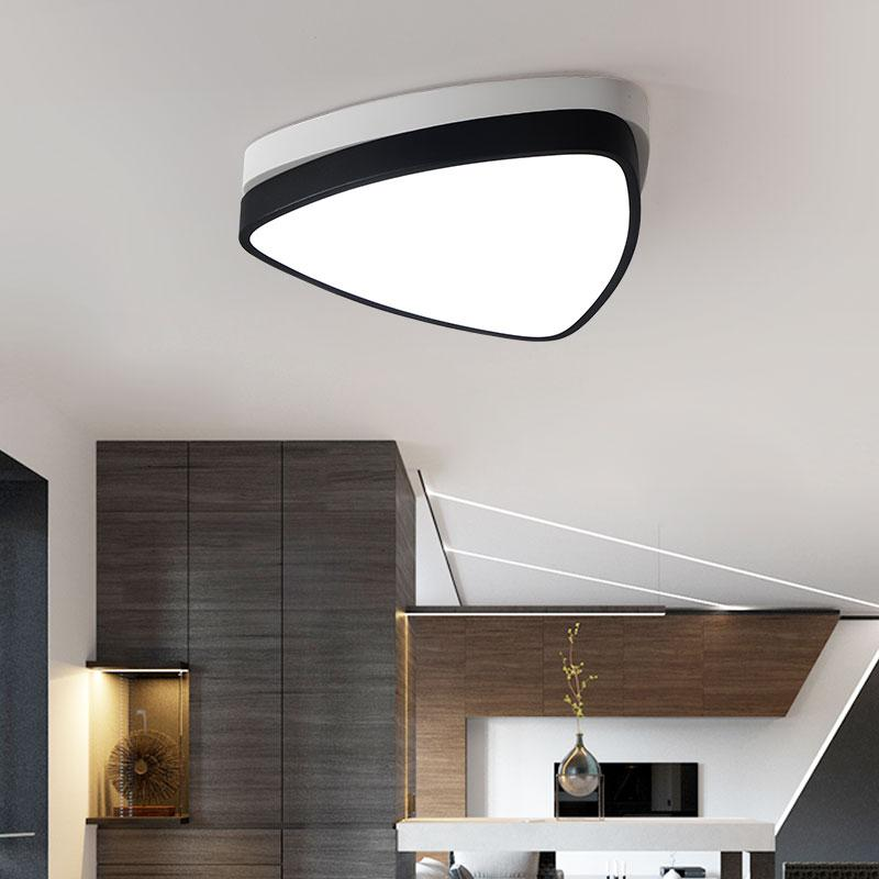 lamp ceiling modern designer circle room ceilings rings light lights product living led remote for fixtures bedroom control