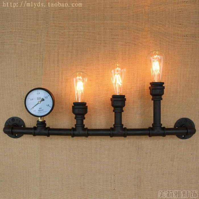 Retro Loft Industrial Wall Lamp Lampe With 6 Lights Fixtures Led