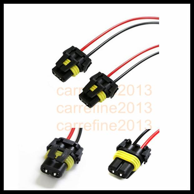 Rockeybright 9006 Hb4 Adapter Wiring Harness Sockets Wire For Headlights Fog Light Extension Cable: 9006 Hb4 Wiring Harness At Johnprice.co