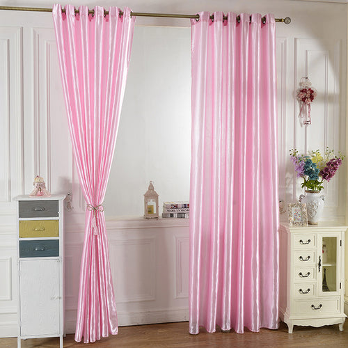 Room Blackout Curtains Pure Window Curtain Panel
