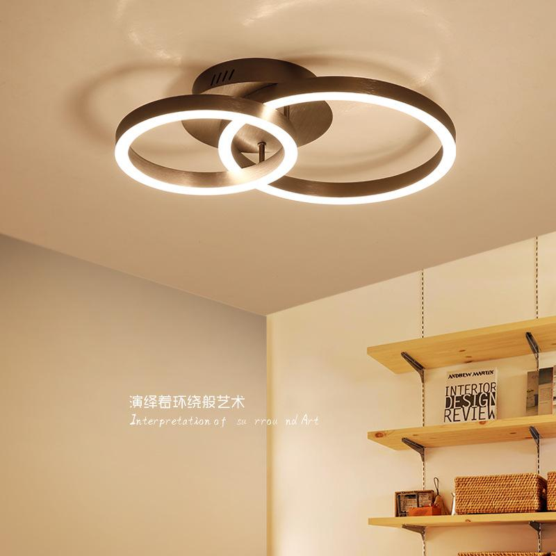 Round modern led ceiling lights for bedroom coffee gold ceiling lamp round modern led ceiling lights for bedroom coffee gold ceiling lamp fixtures ring hanging lamp indoor mozeypictures Gallery