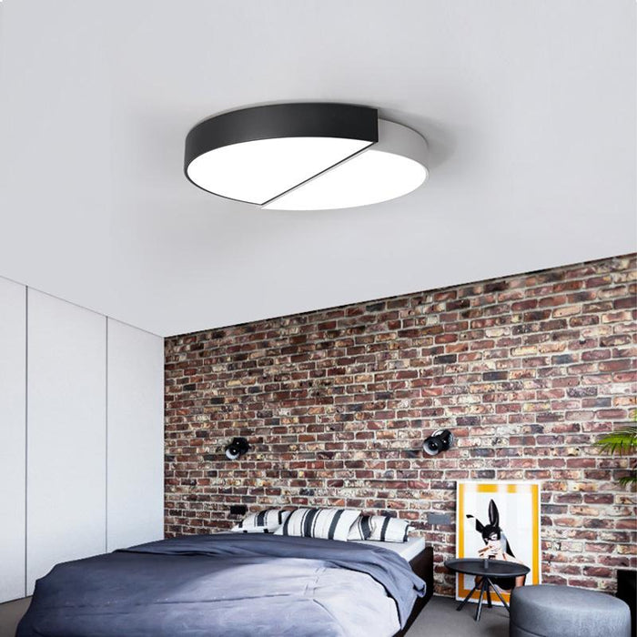 Round led ceiling light modern bedroom ceiling lamps surface mounted ...