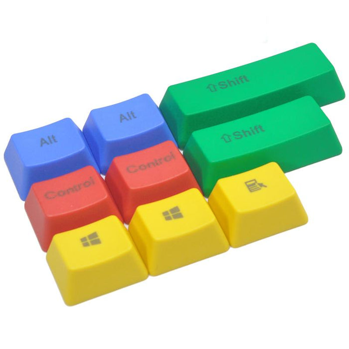 9cc440b537f Russian/ PBT English Languag Keycaps Variety Of Color Choices For Cherry MX  Mechanical Keyboard Key