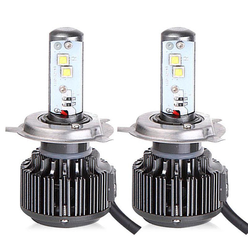 SAFEVIEW H4 led H7 auto headlight bulb 9003 H8 H9 H11 9005 HB3 40W 4800LM 6000K automobiles motorcycle lighting bulb car-styling