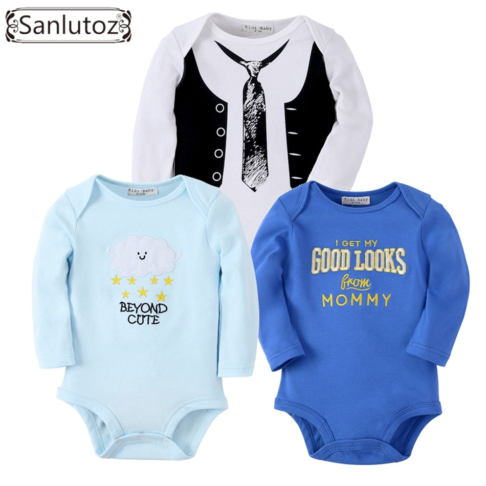 Sanlutoz Baby Rompers Set Newborn Clothes Baby Clothing Boys Girls