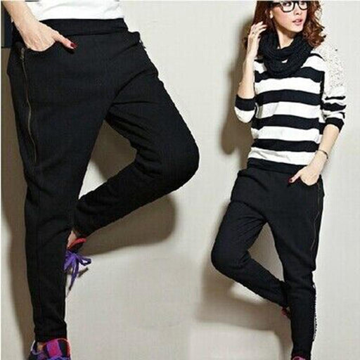 Spring and Autumn Hip Hop dance Harem pants Women 2015 Loose plus size Female trousers Casual skinny Pants