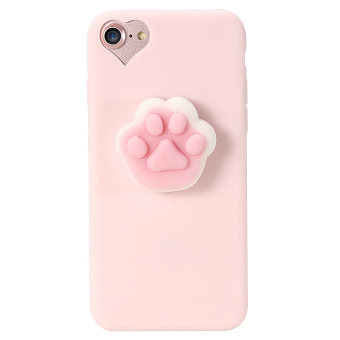 fb5d476546a048 Squishy Phone Case For iPhone 6 6s 7 KISSCASE 3D Cute Cat Soft Silicone Case  For