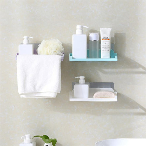 Strong suction Cup Bathroom storage Holder Shelf