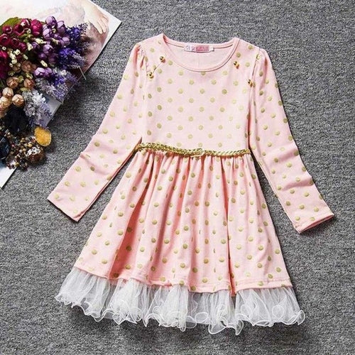 Summer Baby Girl Dot Dress Fashion Sweet Cute