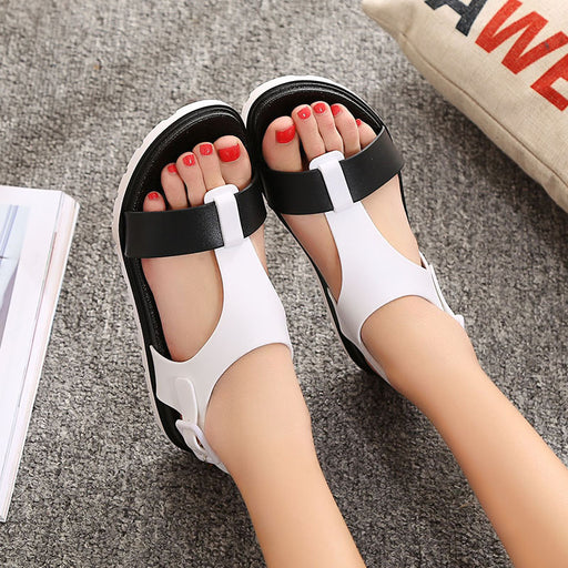 Summer Women Sandals Bohemia Flats Shoes Comfortable Beach Sandal Flip Flops Casual Shoes Gladiator Sandals Women Fashion BT558
