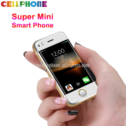 Super Mini Android Smart Phone SOYES 7S 6S MTK Quad Core 1GB+8GB 5.0MP Dual SIM High Definition Screen 8S Mobile Phone X S8 S9