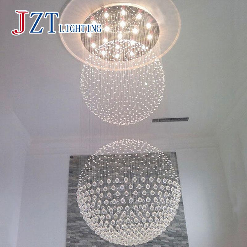 T large luxury crystal circular ceiling light for hotel engineering t large luxury crystal circular ceiling light for hotel engineering penthouse floor hall stair with led mozeypictures Image collections
