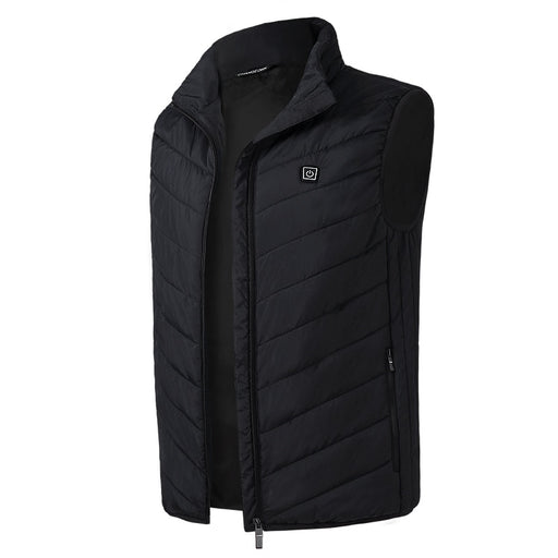 Thermal Electric Heated Vest Men Women Winter USB Heating Waistcoat Outdoor Skiing Warm Vest Sleeveless Jacket Hiking Vests