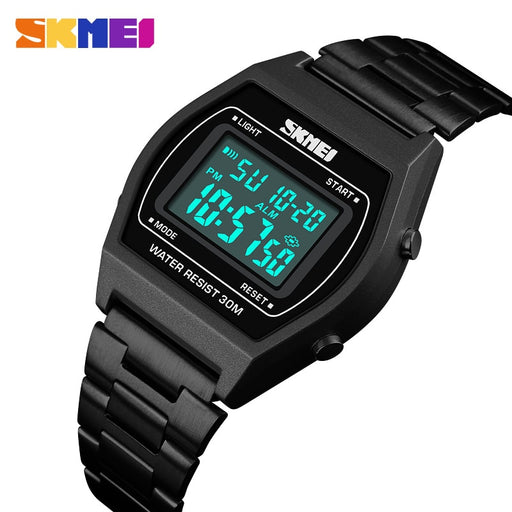 Top Brand Luxury SKMEI Mens Watches Famous LED Digital Watches For Male Clocks Watch Men Herren Uhren  2018
