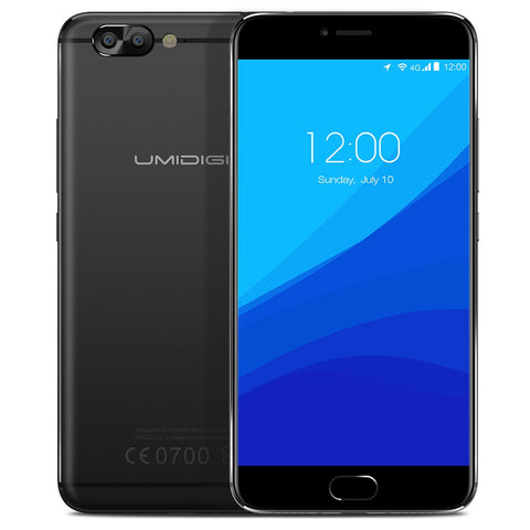 UMIDIGI Z Pro 4G Phablet Android 6.0 Smartphone 5.5 inch Helio X27 Deca Core 2.6GHz 4GB RAM 32GB ROM 13.0MP Dual Rear Cam Phone