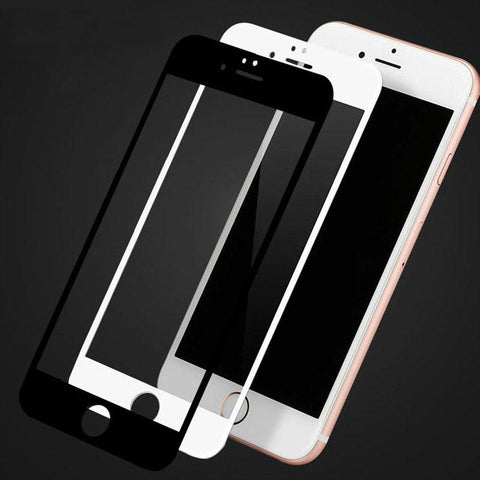 UVR #001 Soft edge Tempered Glass for iphone 6/7/8 Screen Protector 0.26mm 2.5D Carbon Fibre Silicone Film for 6/6s/7plus