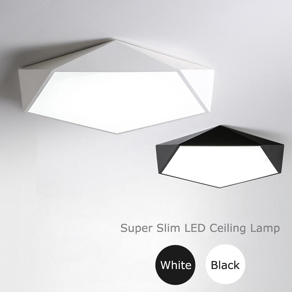 Ultra Thin Led Ceiling Lamp Modern Super Bright Ceiling Lights Lustres Led Aisle Balcony Lampe Plafond For Living Dining Room
