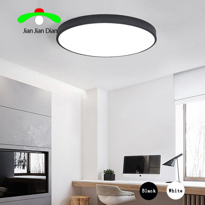 Captivating Ultra Thin LED Ceiling Lights Round Light Dimmable LED Living Room Lamp  Modern Simple Bedroom Lamp