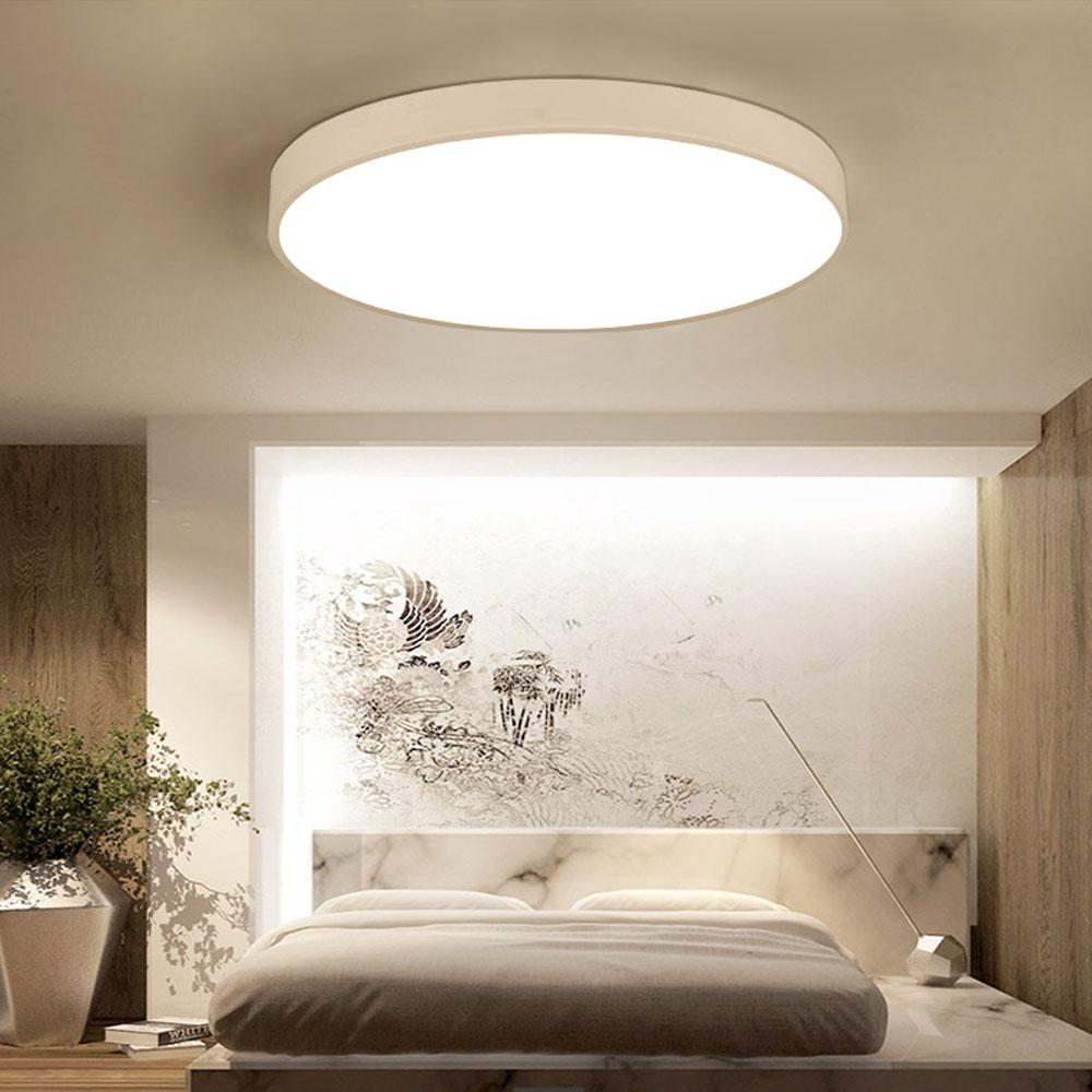 Ultra Thin Led Ceiling Lights Round Light Dimmable Led