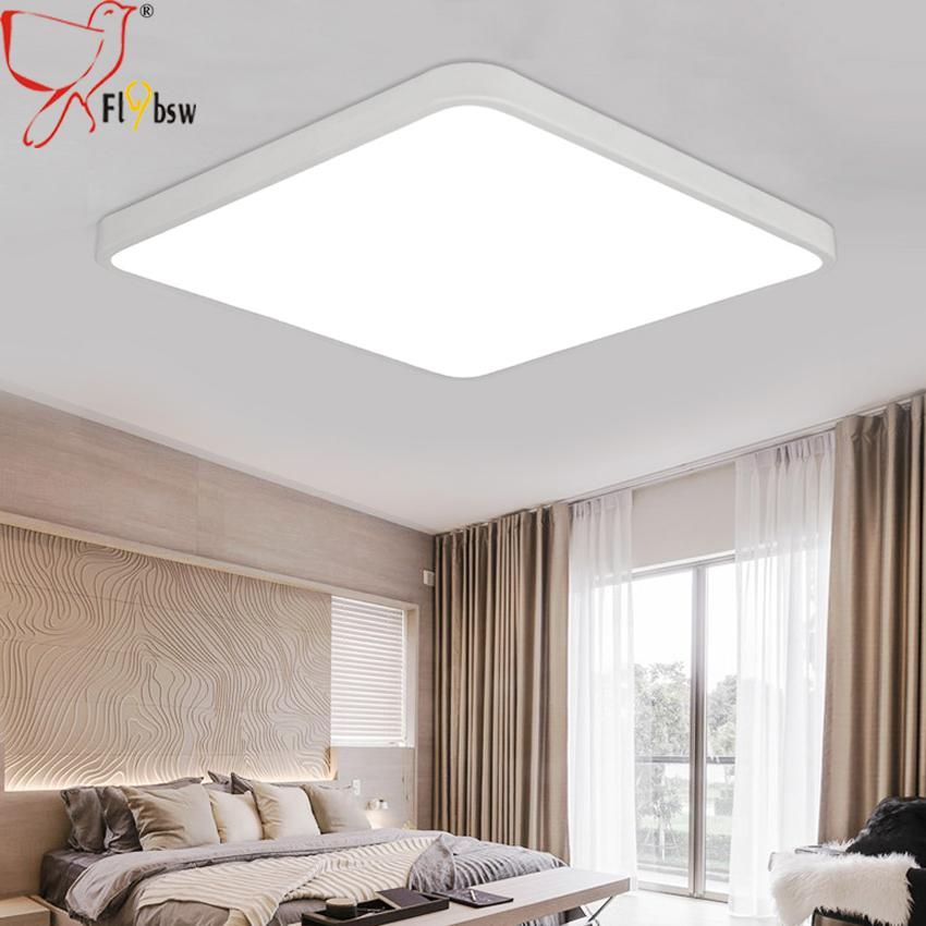 Ultra thin square led ceiling light fixture for bedroom aisle dia 30 ultra thin square led ceiling light fixture for bedroom aisle dia 30 40cm iron acrylic rc aloadofball Image collections
