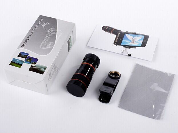 Newest universal common hiking concert cellphone camera lens