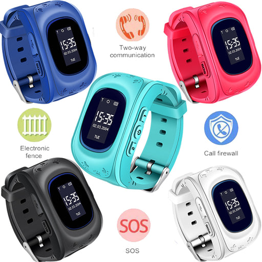 WISHDOIT New Children Watches SOS Security Loss Prevention Kid GPS Smart Watch Remote Monitoring SmartWatch Relogio infantil+Box