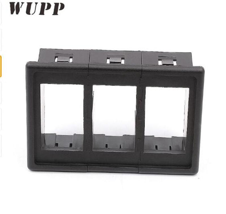 WUPP 3 Car Boat Dash Rocker Switch Clip Panel Patrol Holder For Arb Carling  Waterproof Switch Housing Without Switches
