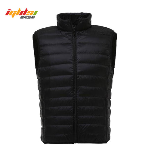 White Duck Down Vest Men 2018 New Autumn Winter Ultralight Sleeveless Jacket Casual Slim Waistcoat Vest Male Outwear Warm Coat