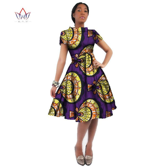 WholeSale Africa Dress For Women African Wax Print Dresses Dashiki Plus  Size Africa Style Clothing for f0edbfe4adbe